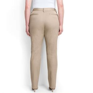 Land's End Mid Rise Straight Leg Chino 12